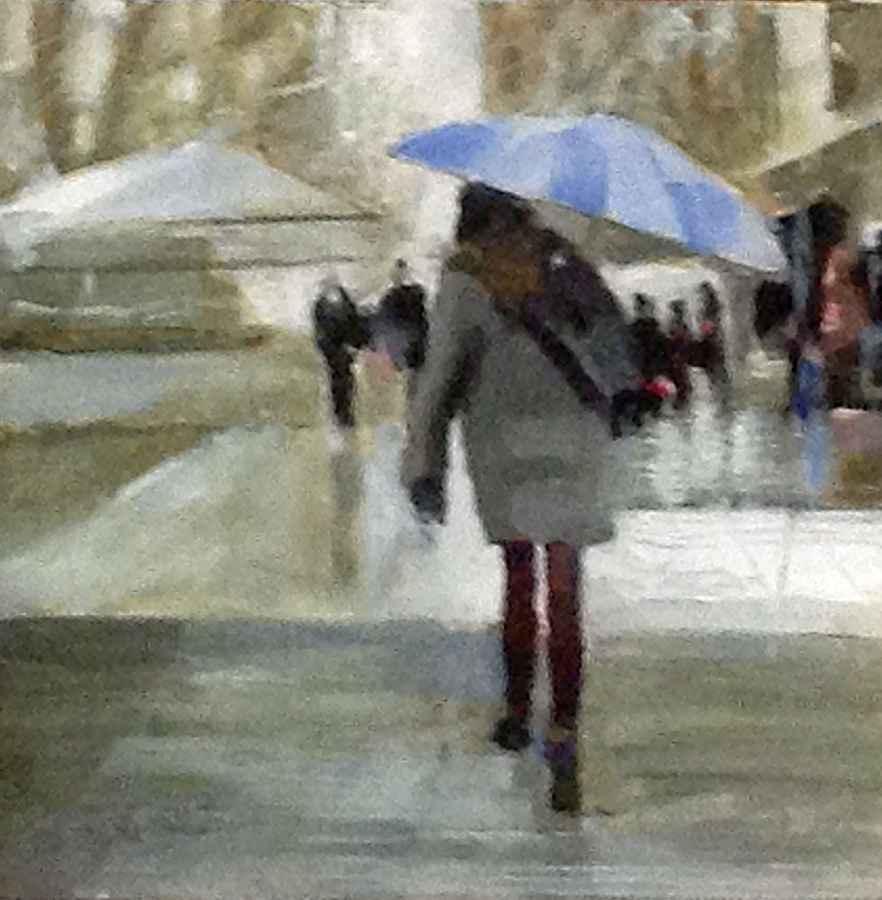 Fall Rain by  Jerry La Point - Masterpiece Online