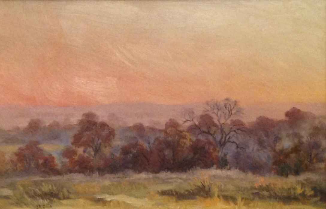 Pink Hills Sunset by  JR Cook - Masterpiece Online
