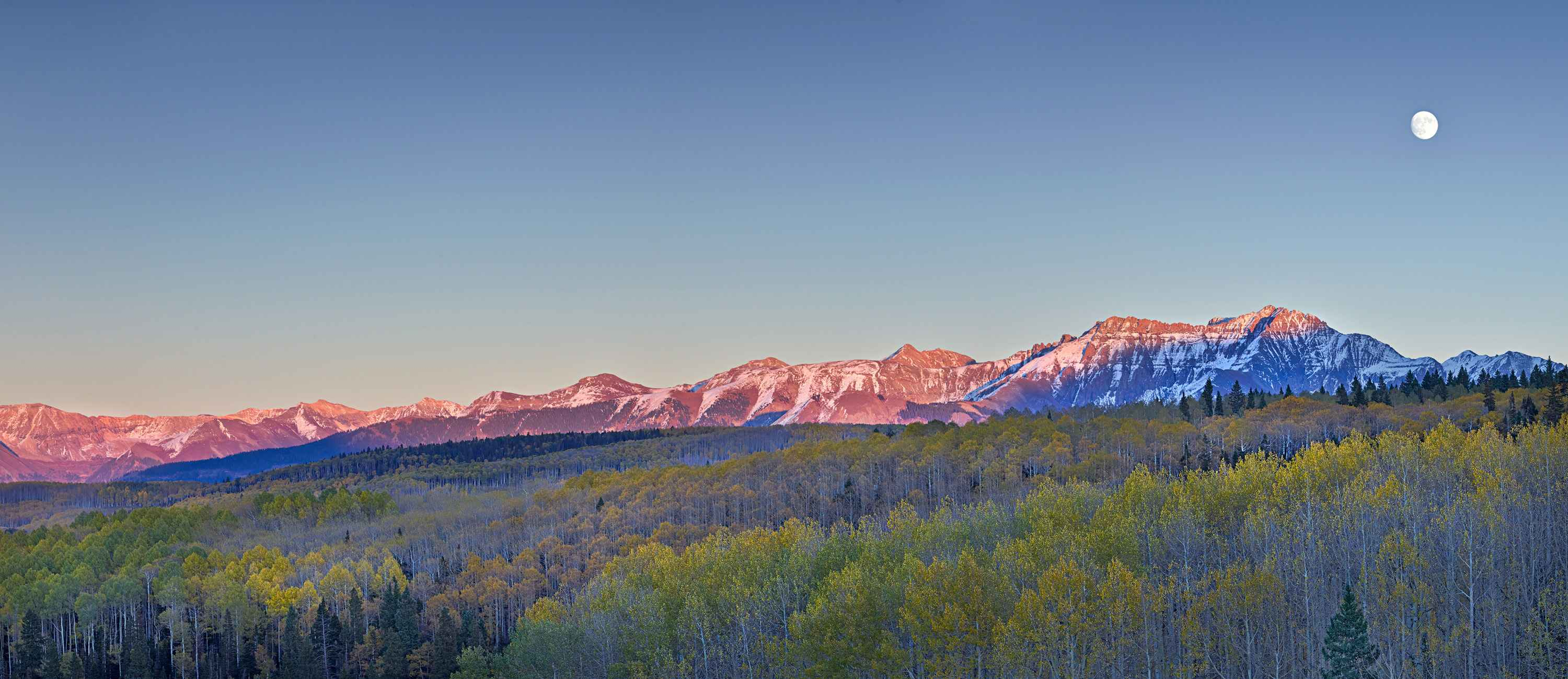 Moon Over The Rockies... by  Steven Friedman - Masterpiece Online