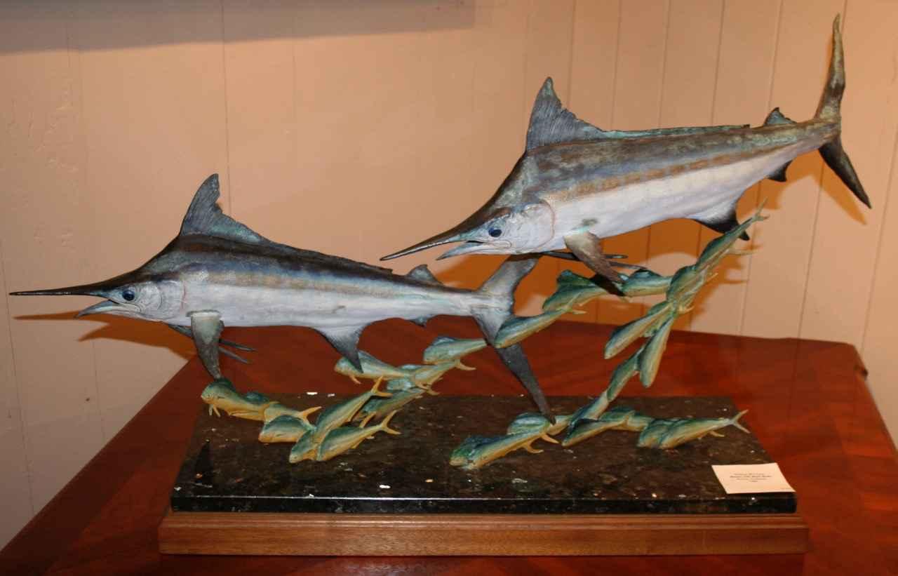 Marlin Chasing Mahi M... by   McGlahom - Masterpiece Online