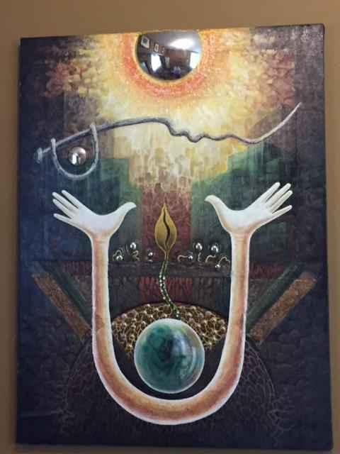 Worshiping of the Sun by  Subhendu Biswas - Masterpiece Online
