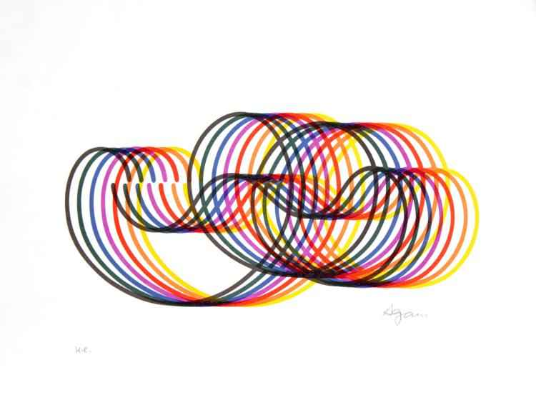 Swirls by  Yaacov Agam - Masterpiece Online