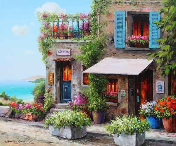 Cafe by  Soon Ju Choi  - Masterpiece Online