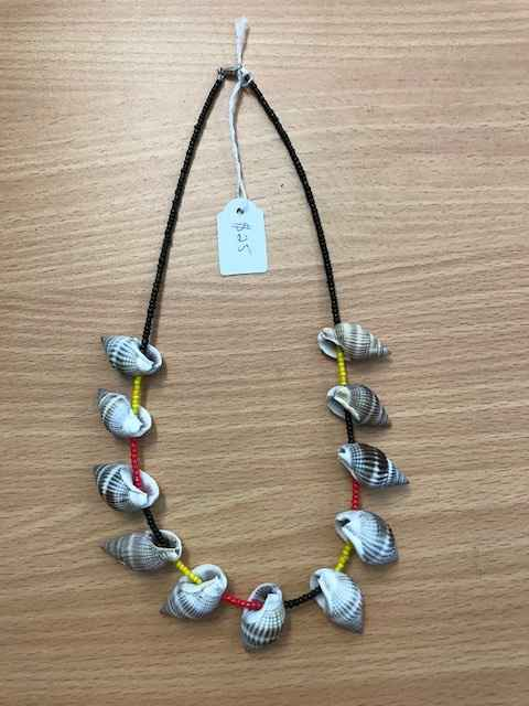 Seed Beads/Shell Neck... by Mrs Larissa Hale - Masterpiece Online