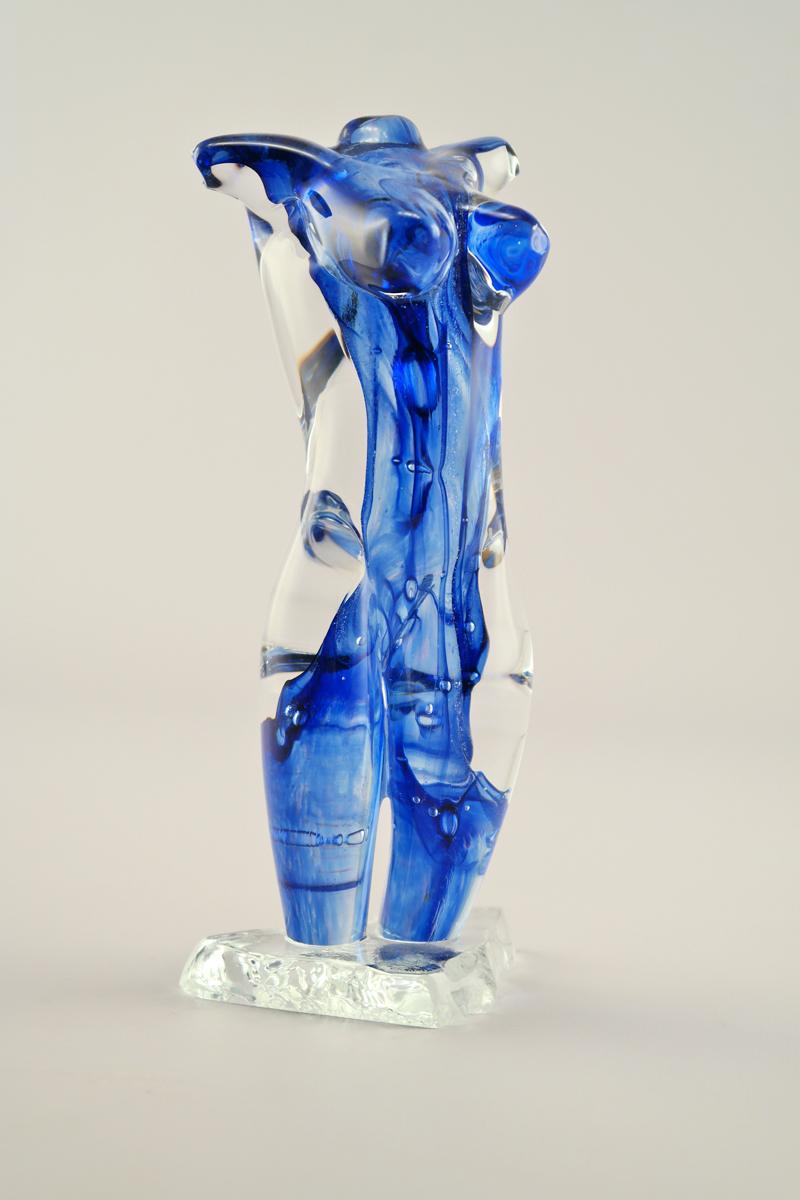 Blue Dichroic Torso by  Gina Lunn - Masterpiece Online