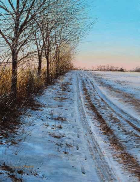 Winter Sunrise - Coun... by  Michael Wheeler - Masterpiece Online