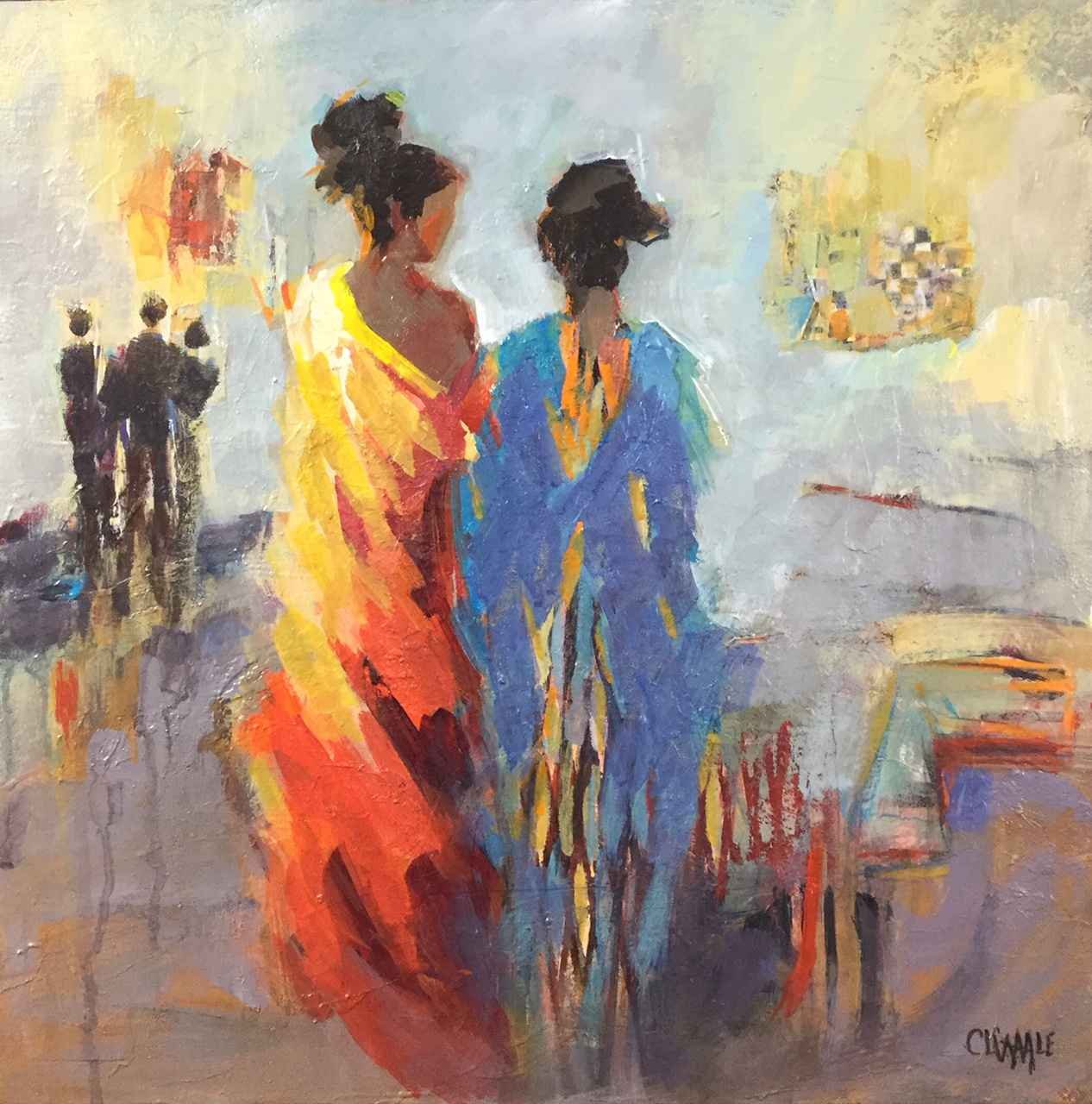 Girl's Night Out by  Cheryl Waale - Masterpiece Online