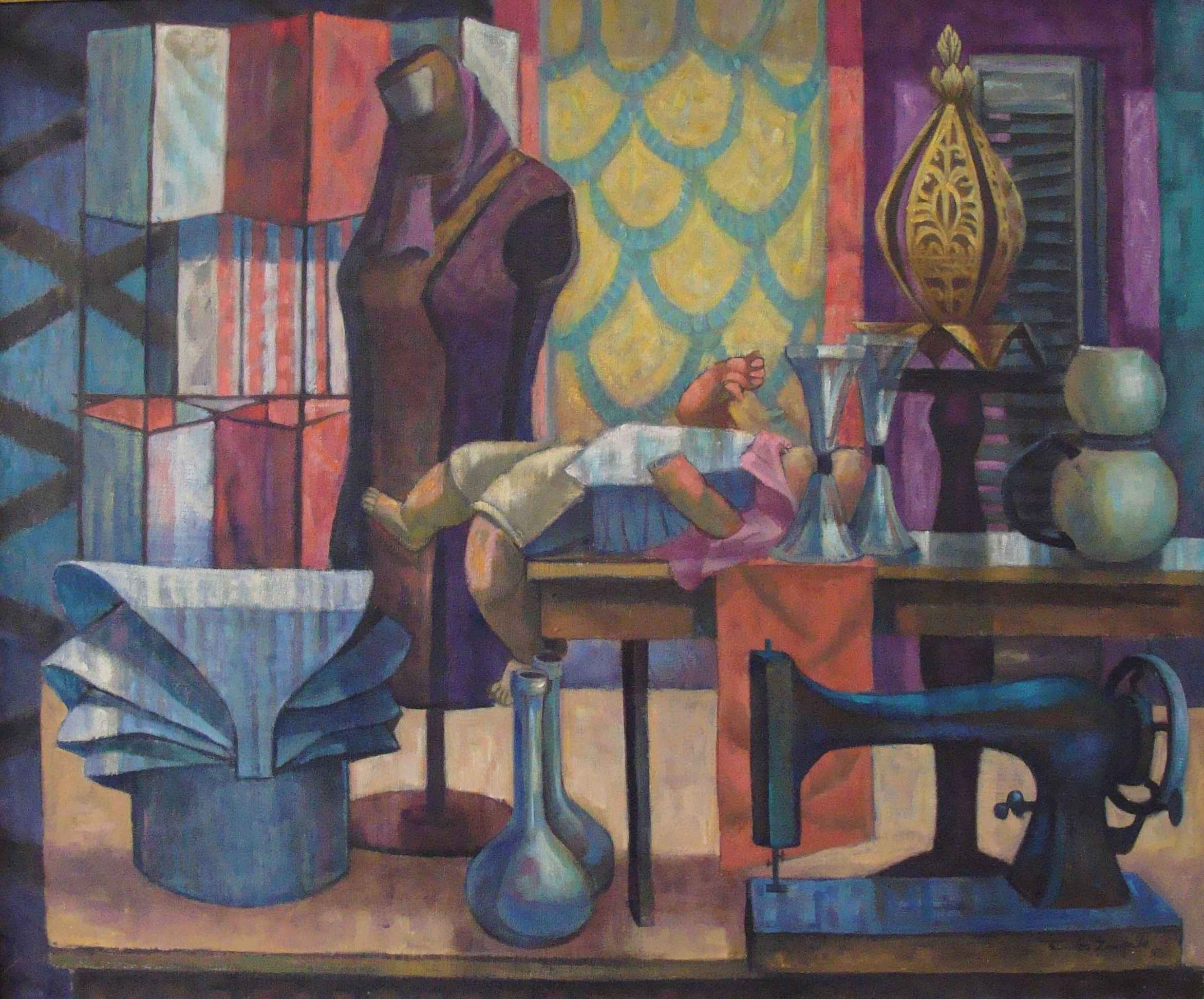 Still Life with Props by Mr. Santos Zingale - Masterpiece Online