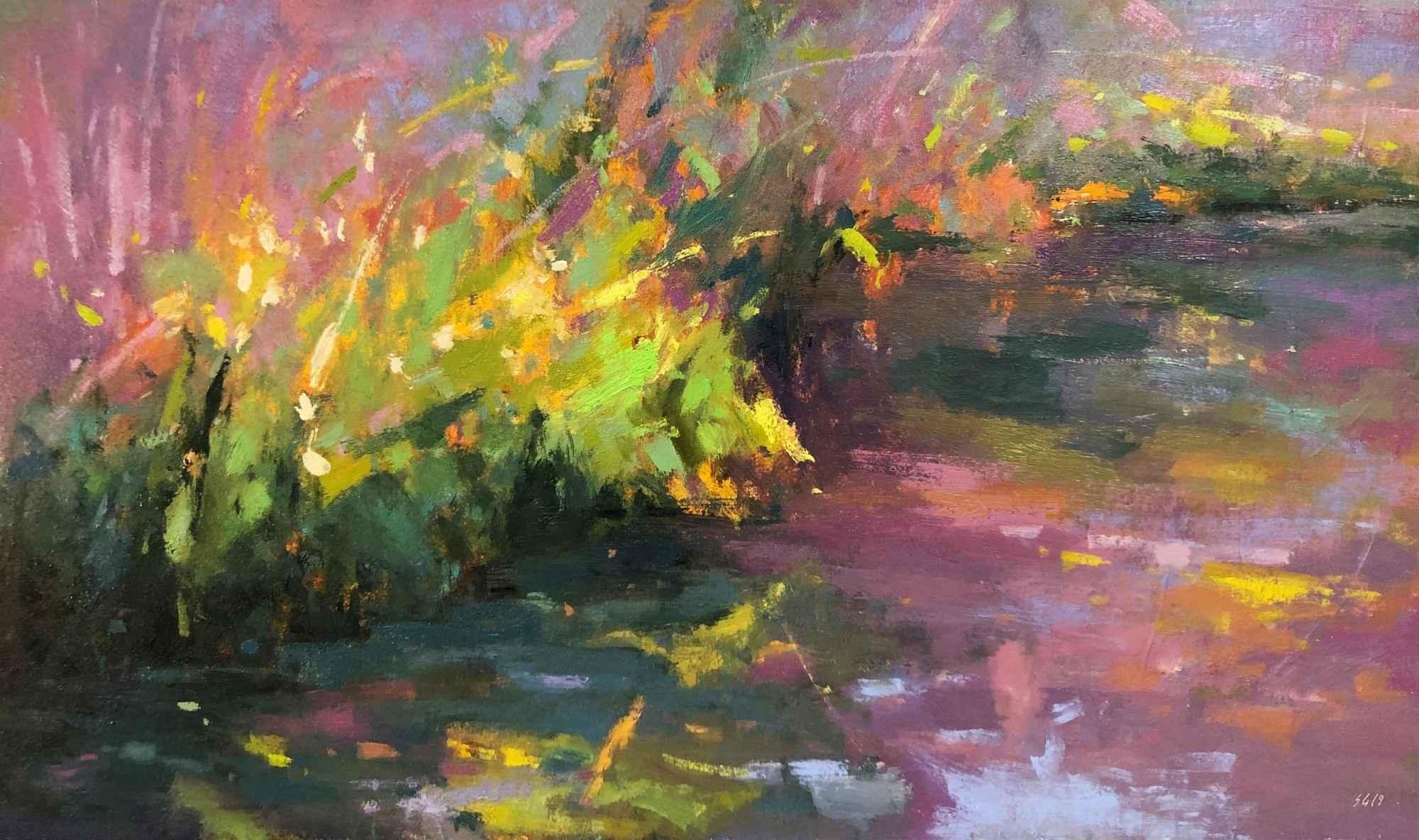Wetland's Edge  by  Scott Gellatly