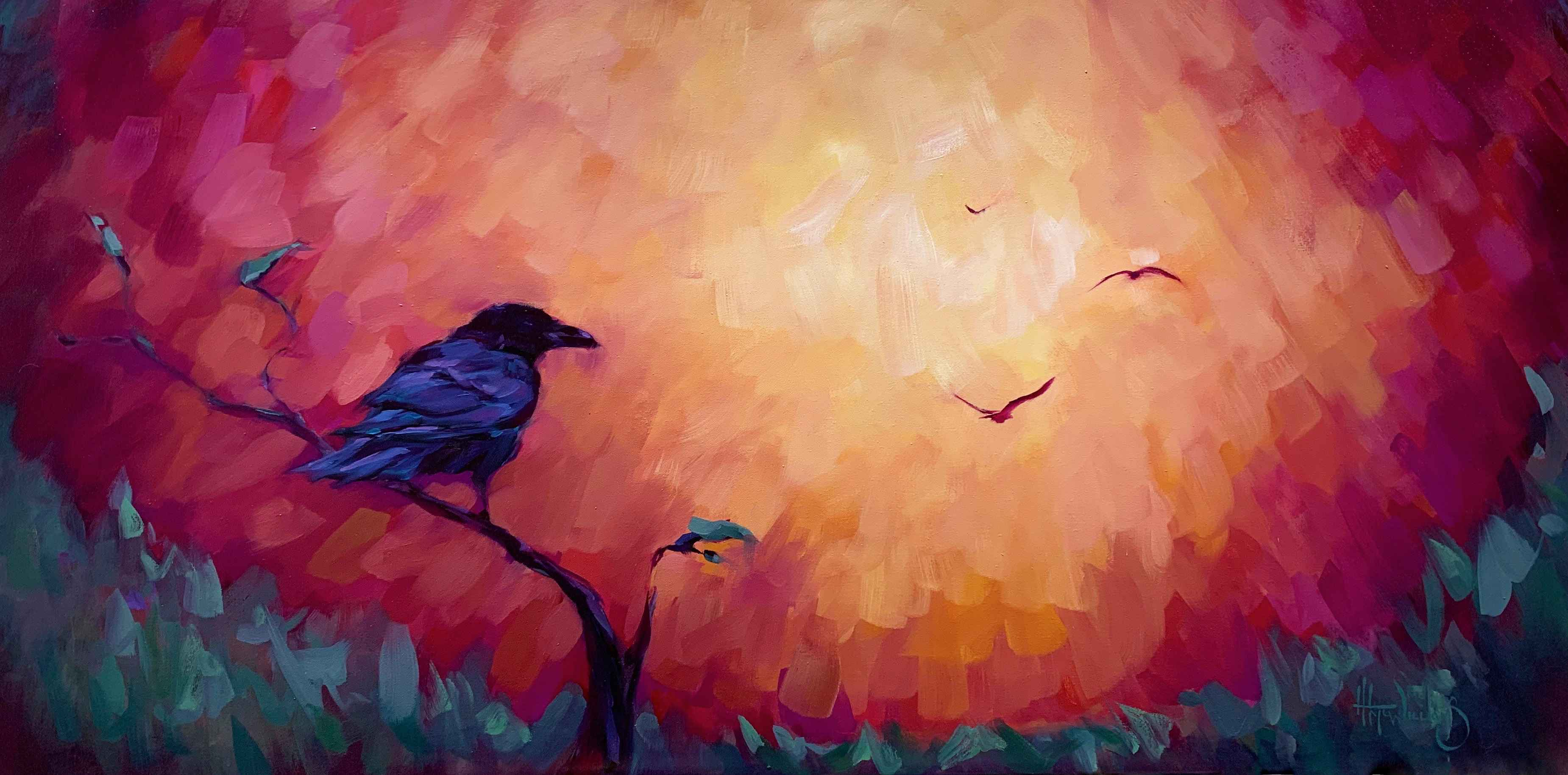 Red Sky at Night by  Holly McWilliams - Masterpiece Online