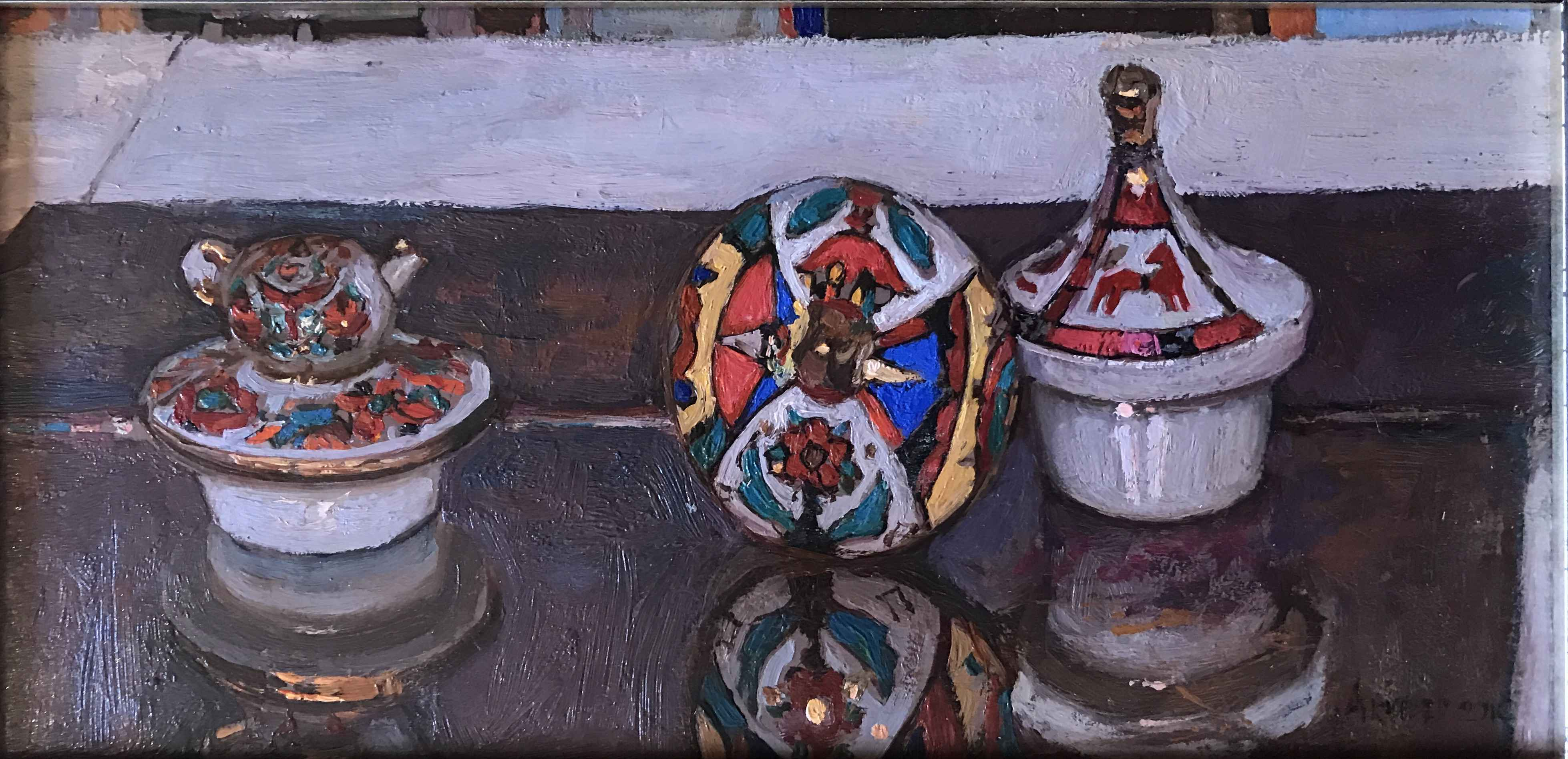 Russian Tea Party: In... by  Daud Akhriev - Masterpiece Online