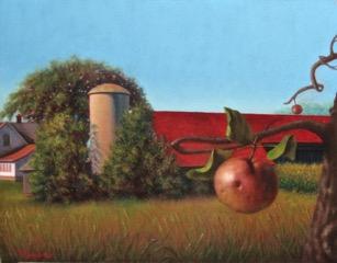 Apple/Farm Scene