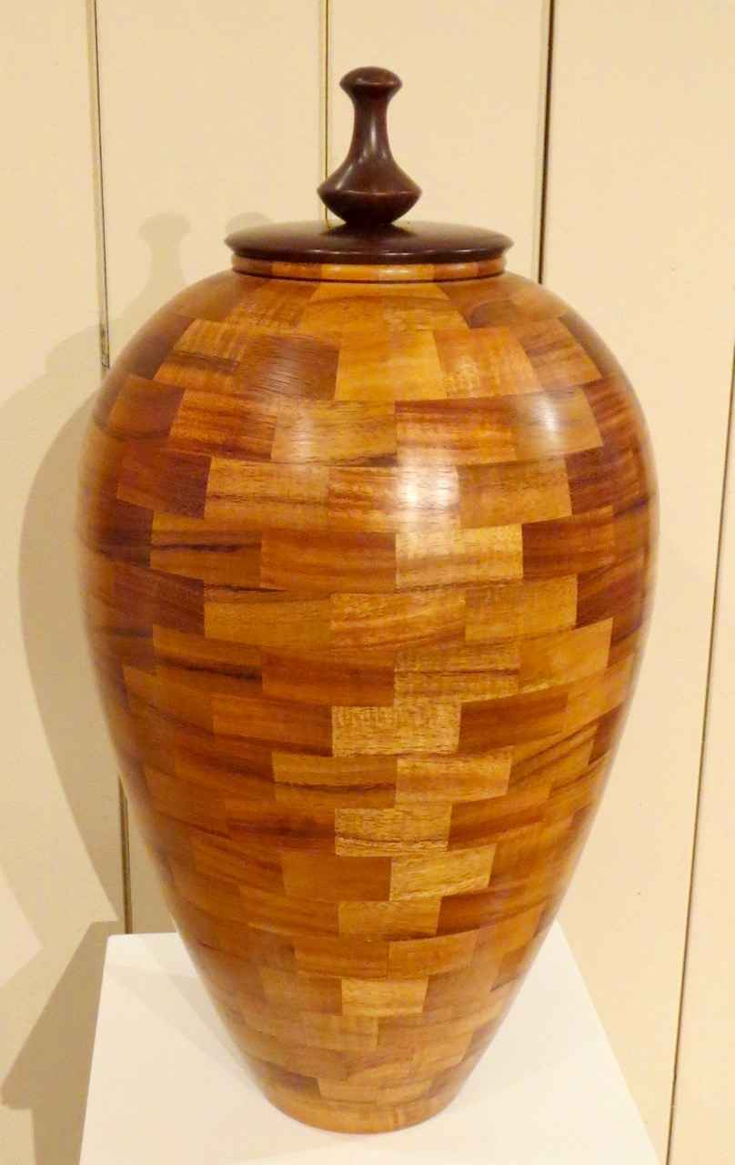 Lidded Vessel with Po... by Mr. Gregg Smith - Masterpiece Online