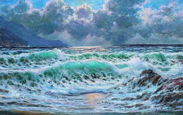Pacific Shimmering by  A Dzigurski II - Masterpiece Online