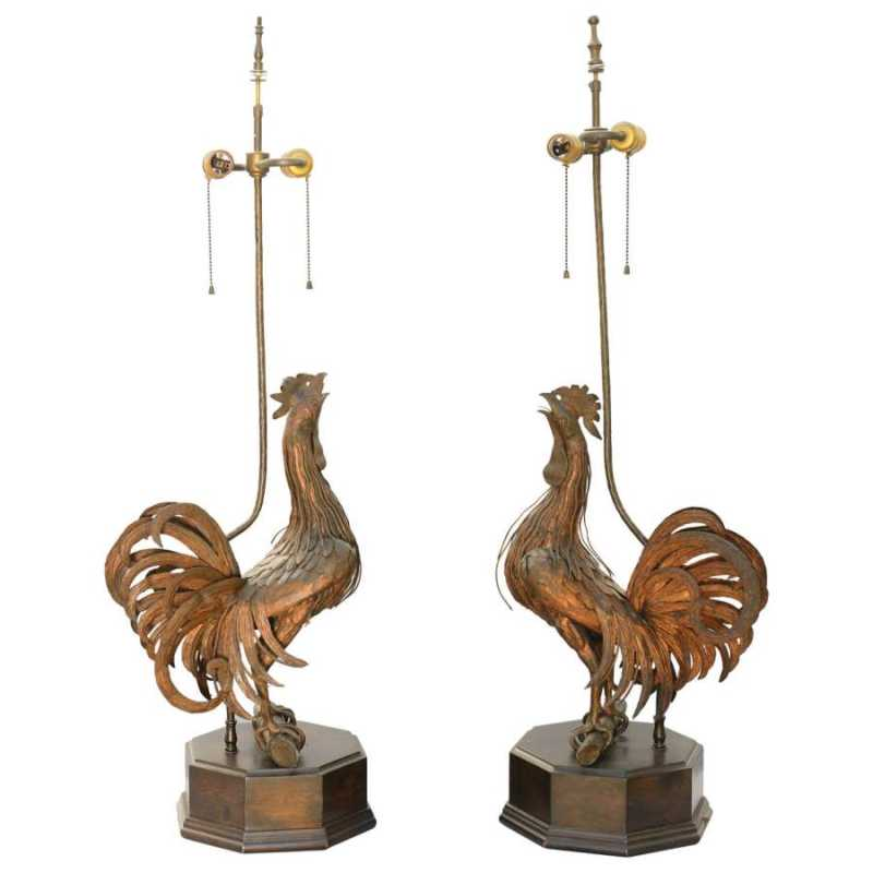 Pair of 19th C. Bronz... by  Chinese  - Masterpiece Online