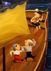 Pirates represented  by  Pierre Pratt