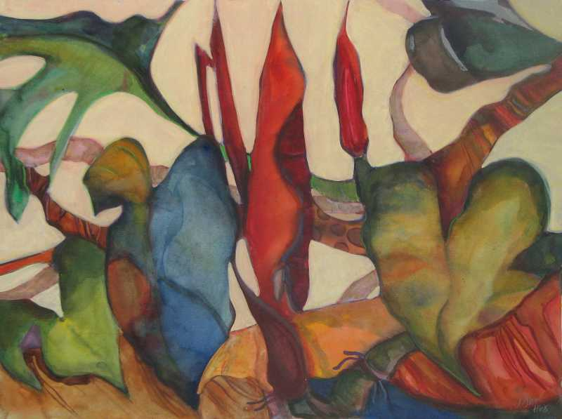 Leaf Shuffle by  Anne Irons - Masterpiece Online