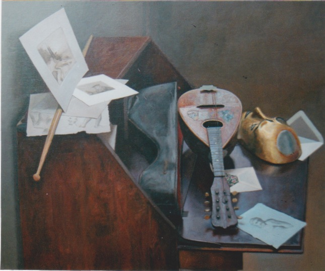 Still Life with Mando... by  Daud Akhriev - Masterpiece Online