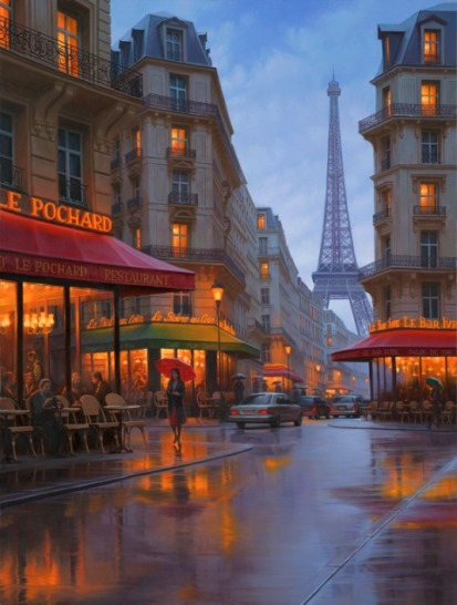 City Of Love by  Alexei Butirskiy - Masterpiece Online