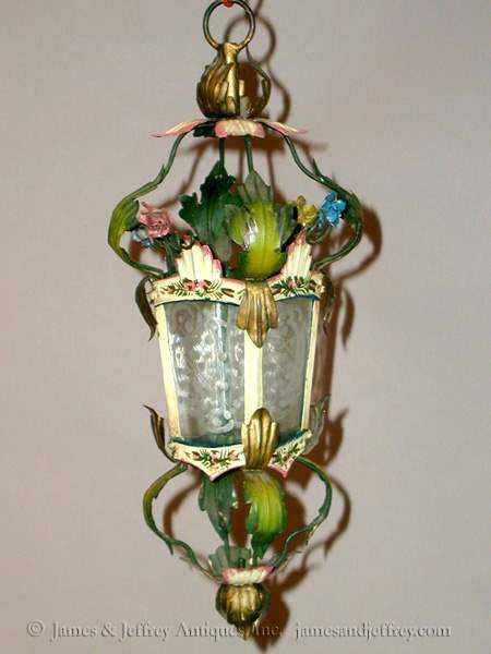 Petite Iron Lantern by  Italian  - Masterpiece Online