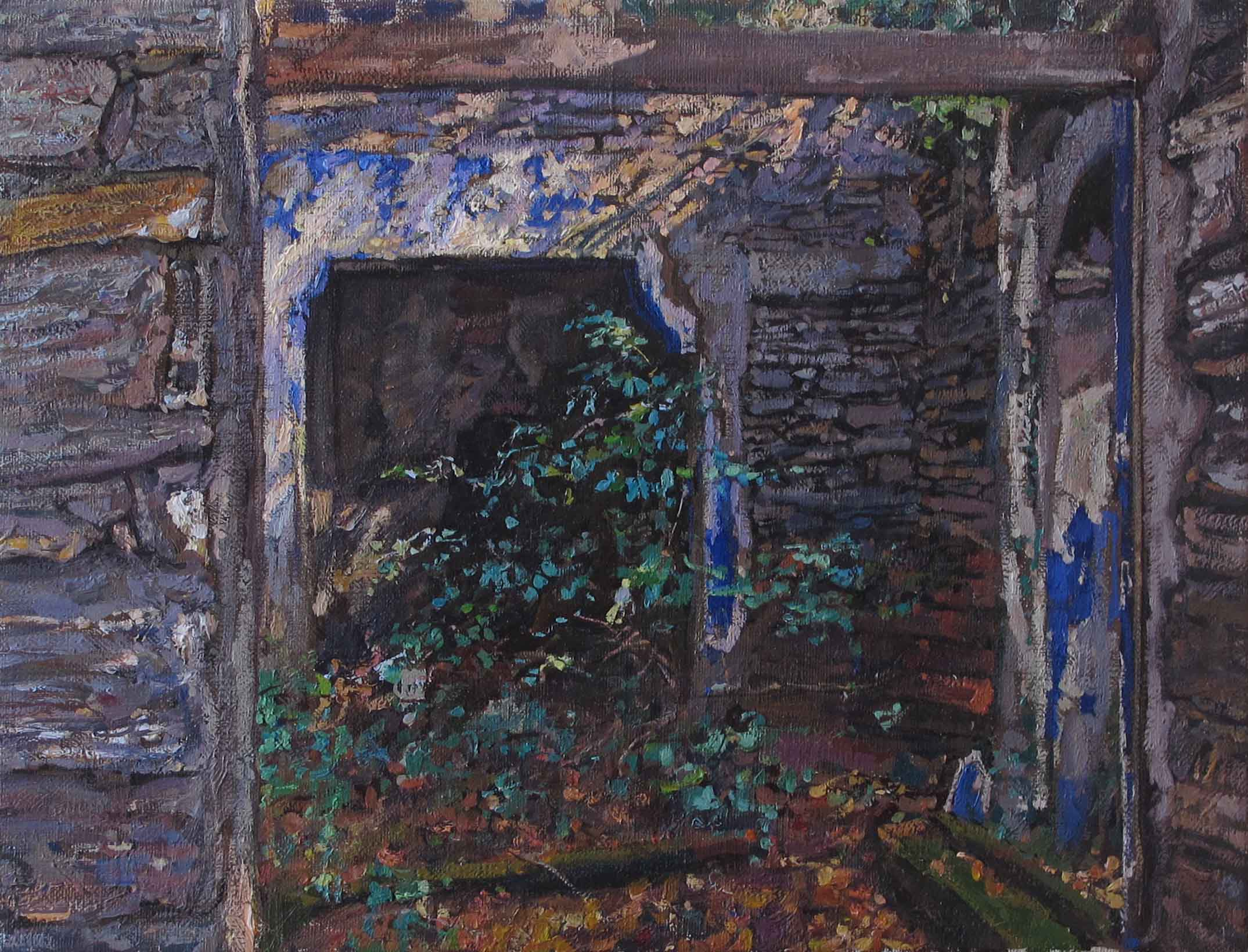 Chapel, Old Walls by  Daud Akhriev - Masterpiece Online