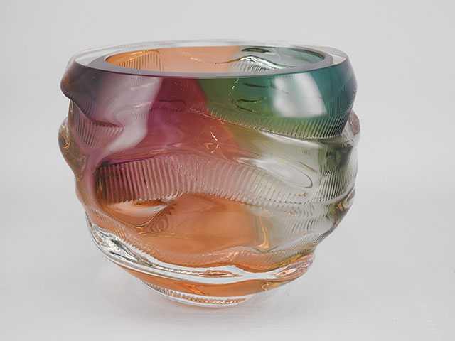 Trails Bowl by  Leon Applebaum - Masterpiece Online