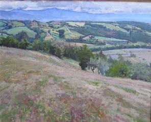 Fields of Pianettole by  Daud Akhriev - Masterpiece Online