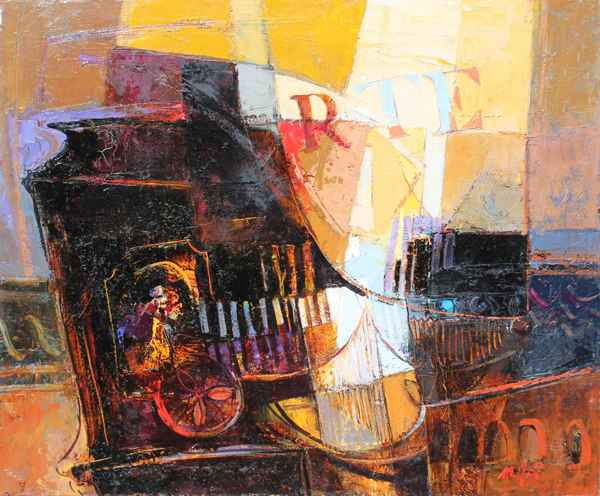 Piano I by  Mario Malfer - Masterpiece Online