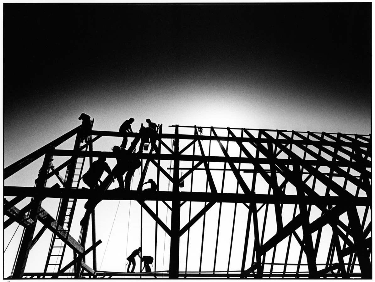 Barn Raising 1994 B1 by  Alison Shaw - Masterpiece Online