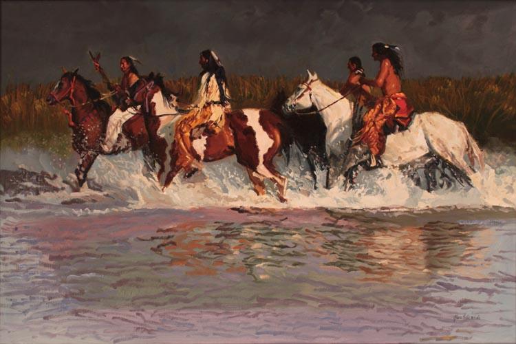 A NEW WORK- Lakotas by  Glen Edwards - Masterpiece Online