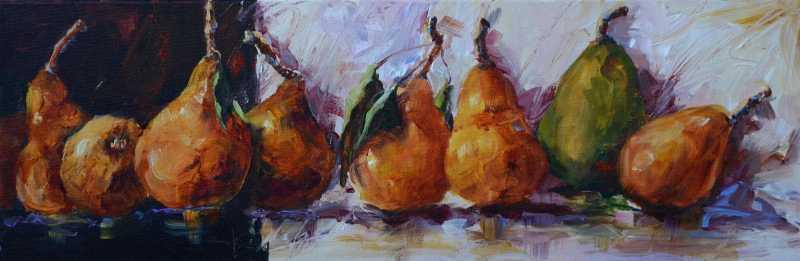 Pear Shadows by  Bev Jozwiak - Masterpiece Online