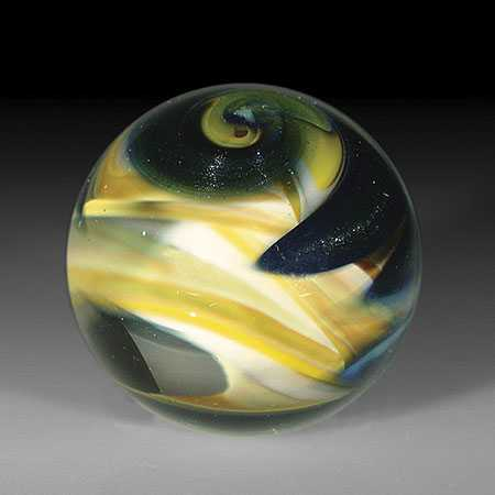 Ring of Fire Yellow,... by  Ring Of Fir Glassworks - Masterpiece Online