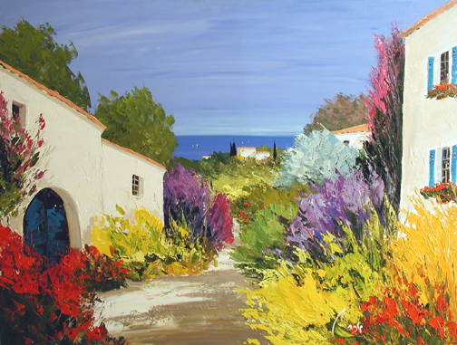 Sanary 2 by  Louis  Magre - Masterpiece Online