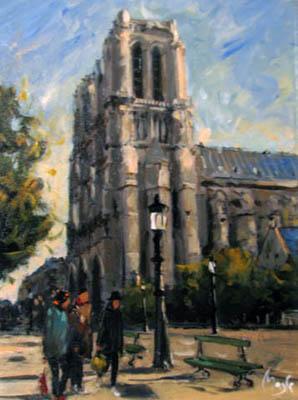 Notre Dames de Paris by  Louis  Magre - Masterpiece Online