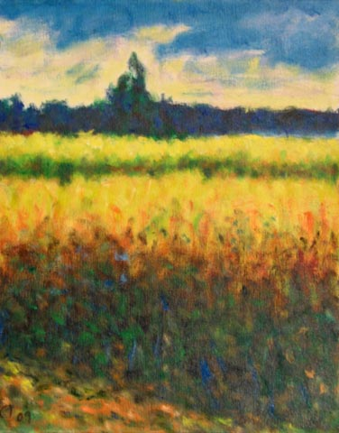 Mustard in Bloom by  Andres  Morillo - Masterpiece Online