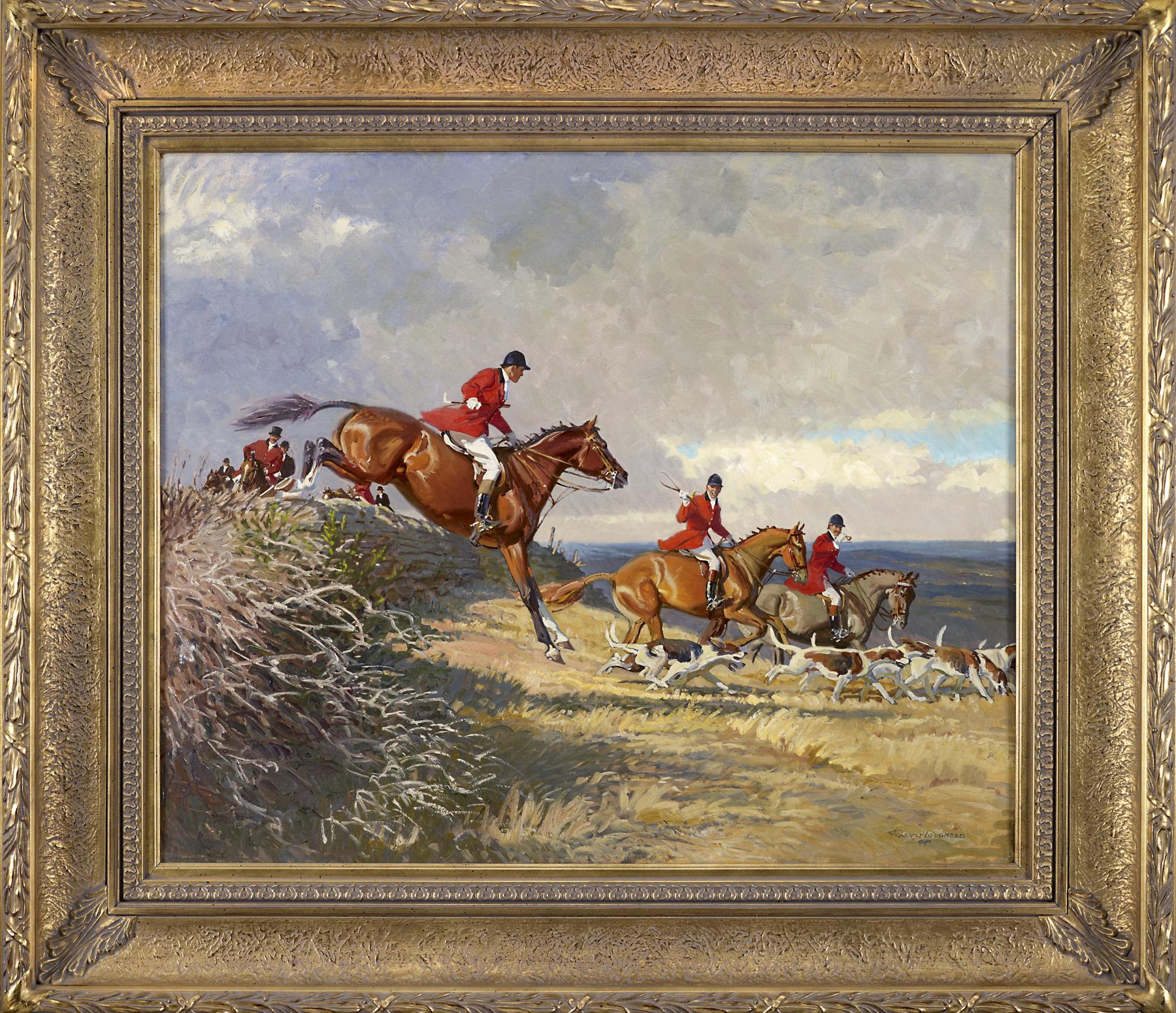 November Hunt by  Robert Lougheed - Masterpiece Online