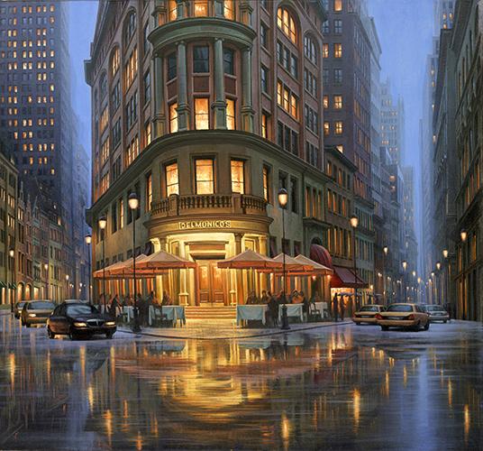 Summer Rain At Delmon... by  Alexei Butirskiy - Masterpiece Online