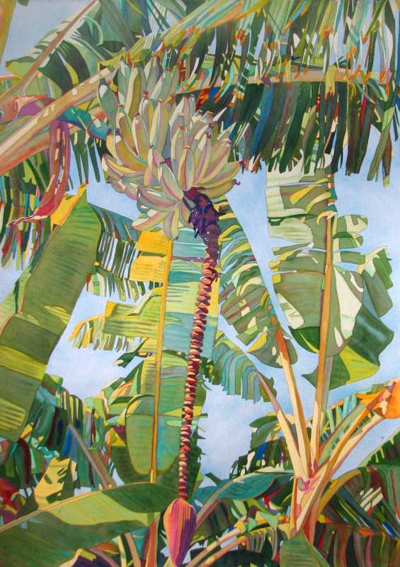 Yellow Bananas by  Fabienne Blanc - Masterpiece Online