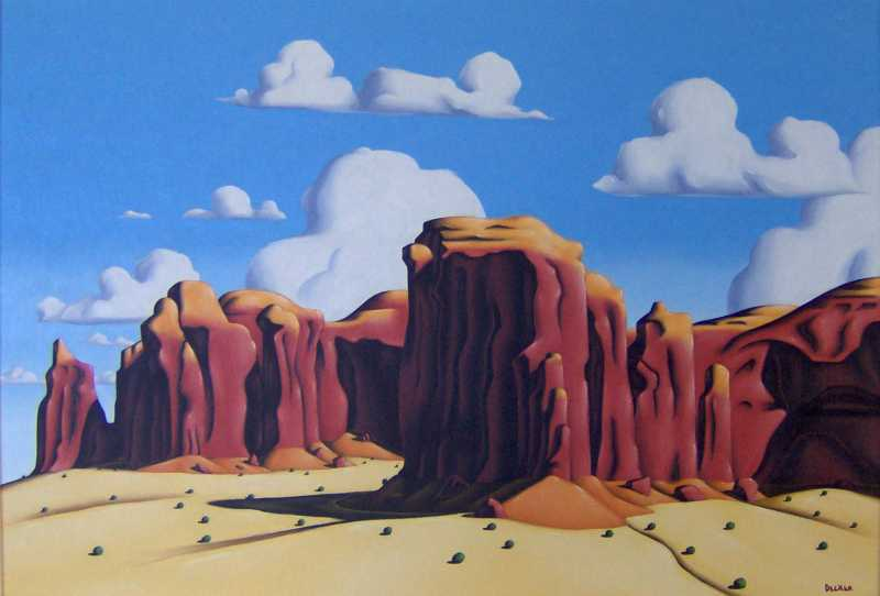 Spearhead Mesa by  Art Decker - Masterpiece Online