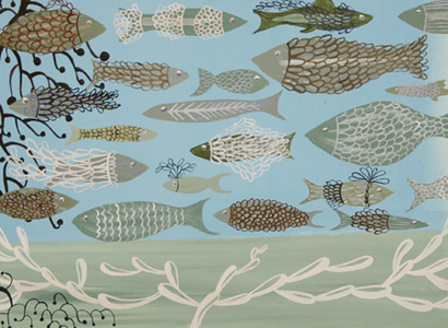 Green Sea Fish by  Sarajo Frieden - Masterpiece Online