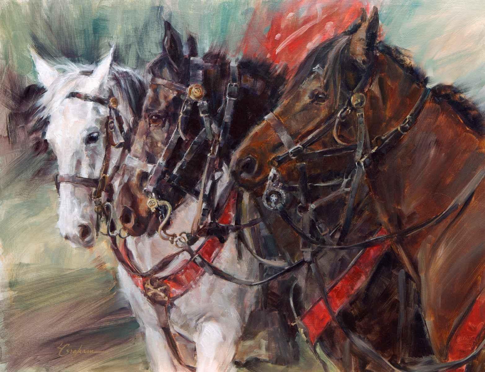 Cavalry Heroes by  Lindsey Bittner Graham*** - Masterpiece Online