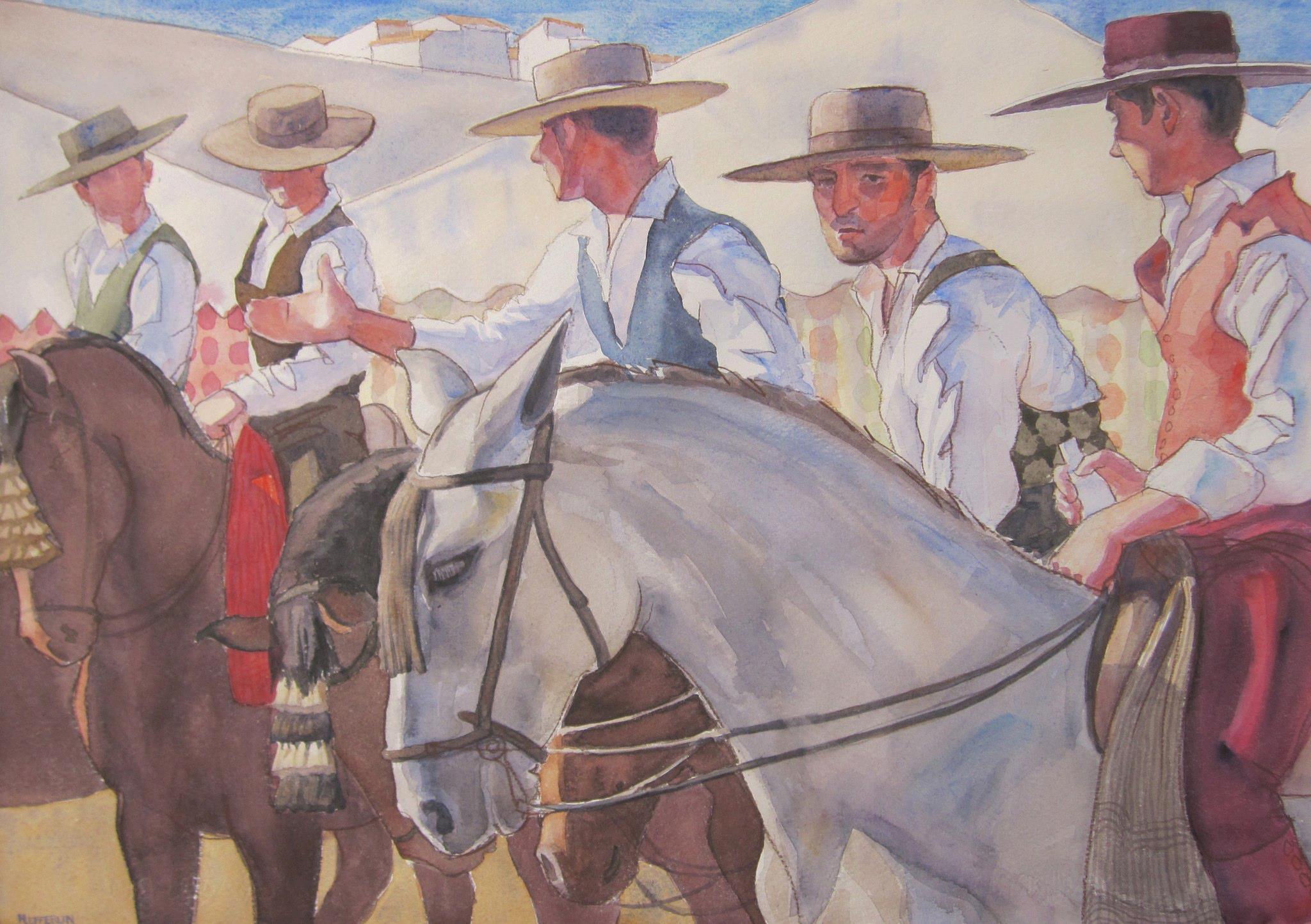 Feria Riders, II by  Melissa Hefferlin - Masterpiece Online