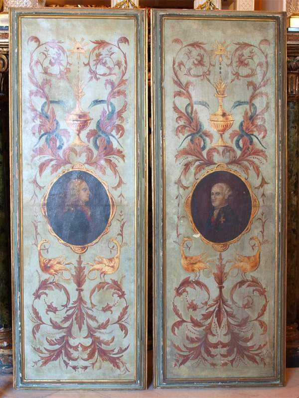 Pair of Paintings by  Italian  - Masterpiece Online