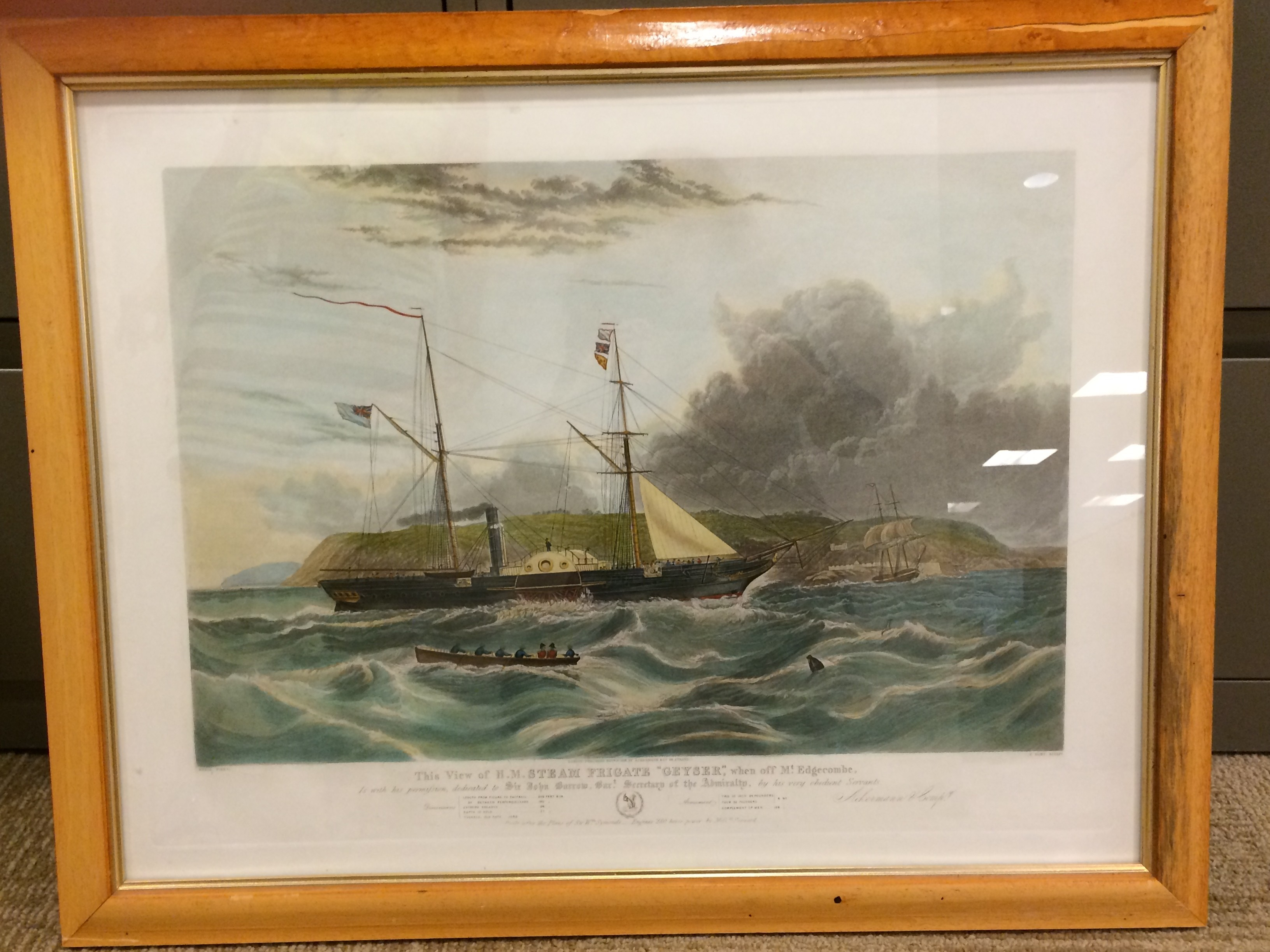 View of H.P. Steam Fr... by  C. Hunt - Masterpiece Online