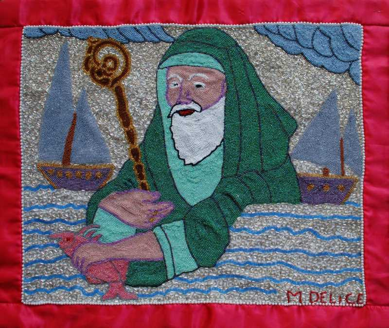 The old man in the sea by  Mireille DELISME - Masterpiece Online