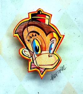 Monkey C by  Andy Sklar - Masterpiece Online