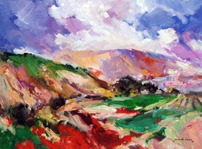 Red Hills by  Pineda  Bueno - Masterpiece Online