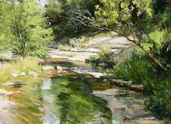 Crabapple Creek by  John Austin Hanna - Masterpiece Online