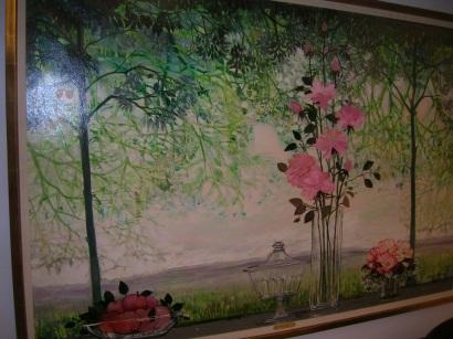 Pink Flower (Still Li... by  Michel Henry - Masterpiece Online