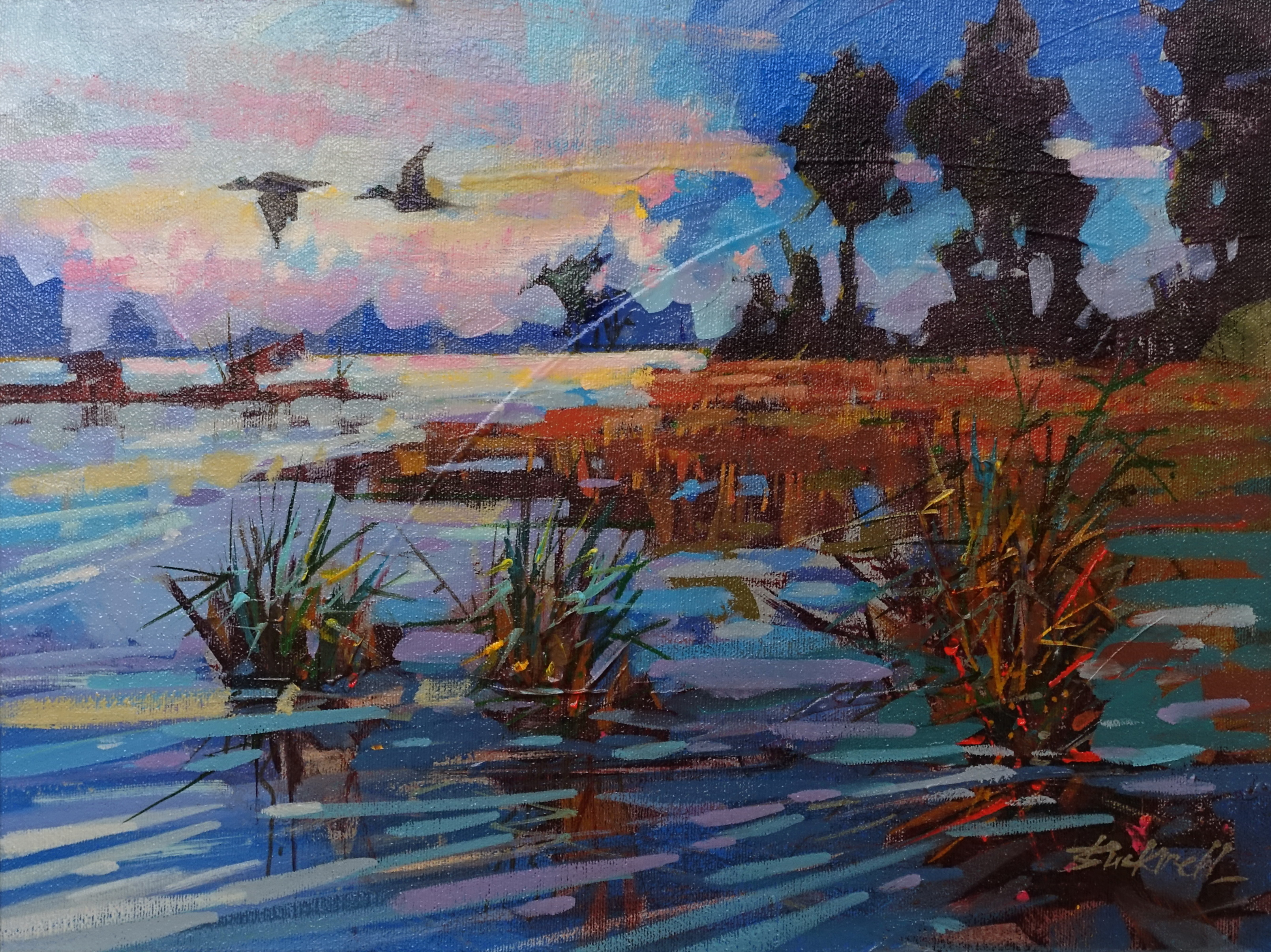 Wetland Morning by  Brian Buckrell - Masterpiece Online